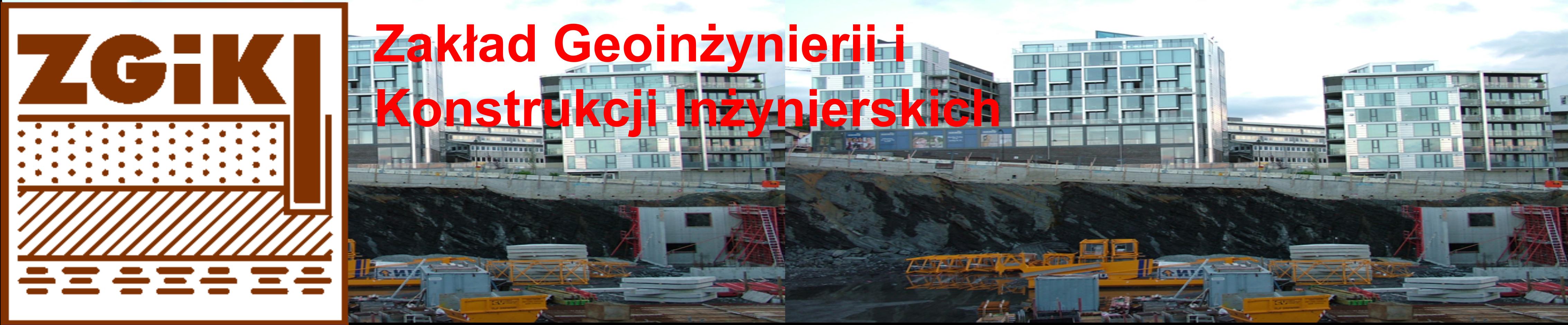 Zakład Geoinżynierii i Konstrukcji Inżynierskich